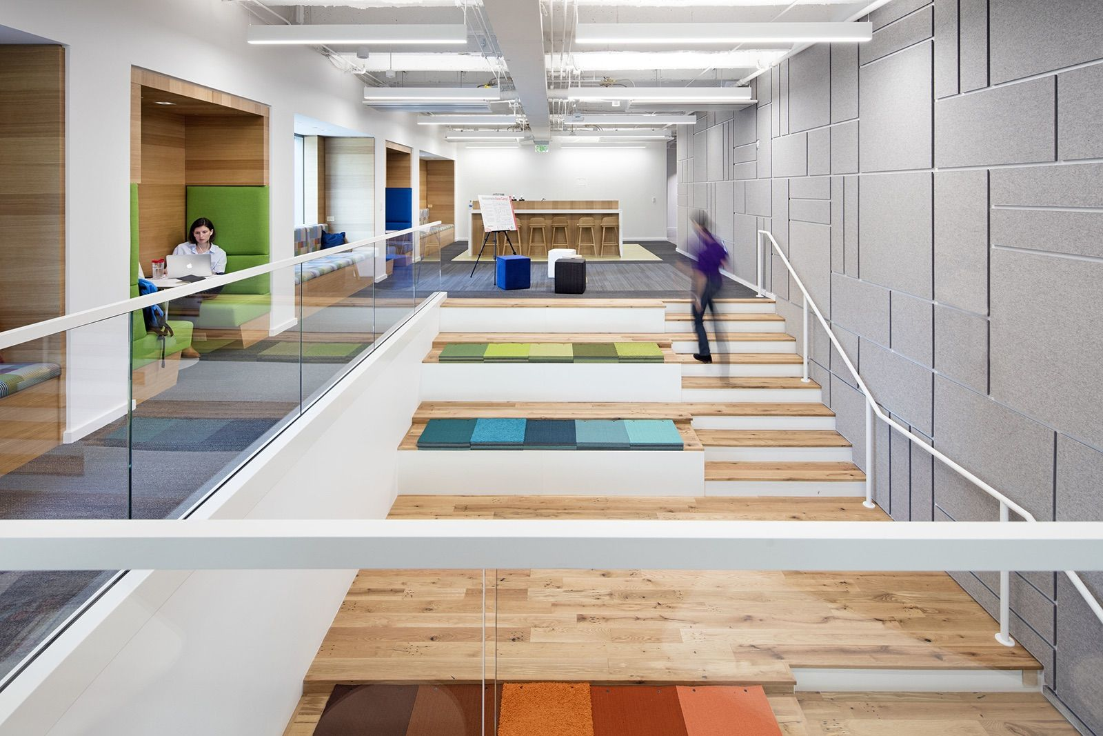 A Tour of Interface's Modern New Office in Atlanta Villa