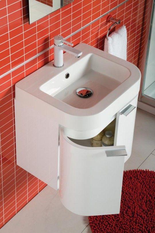 Lavandino per un bagno di piccole dimensioni - Ideare casa | bagno ...