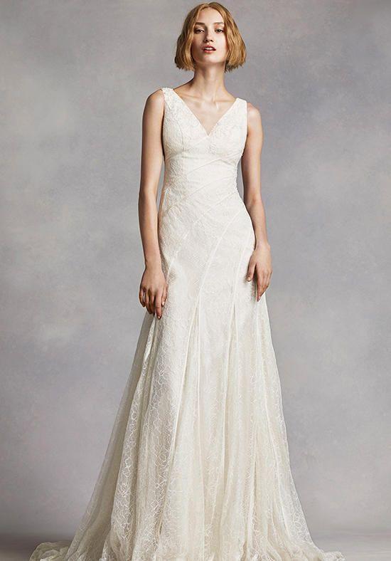 Fabulous White by Vera Wang White by Vera Wang Style VW Wedding Dress The Knot