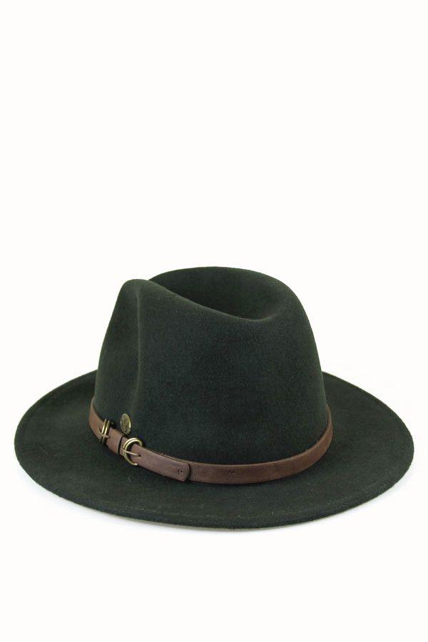 4fd8056438b4e Hunter Green Fedora  46.99    via www.spottedmoth.com  green  hat  fedora   wool