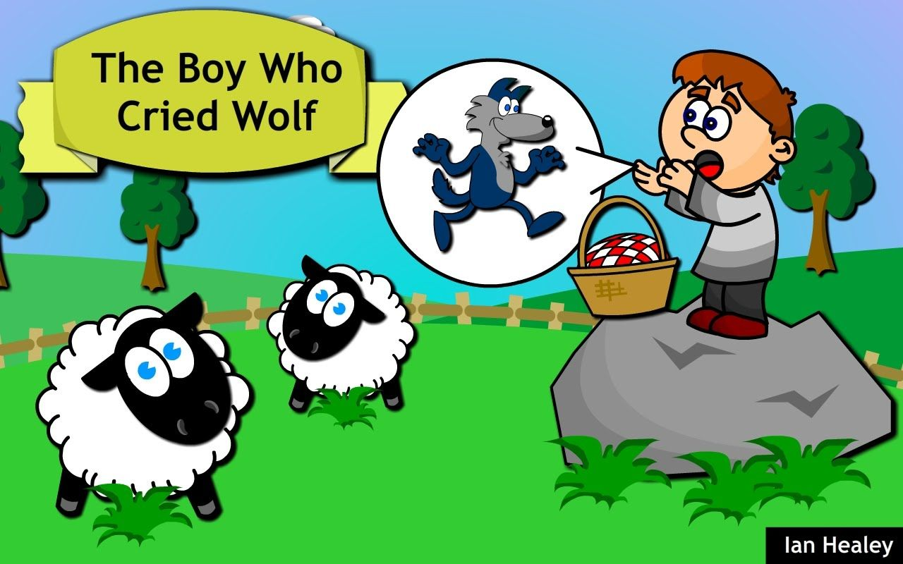 The Boy Who Cried Wolf: Story Time for Children | Girl