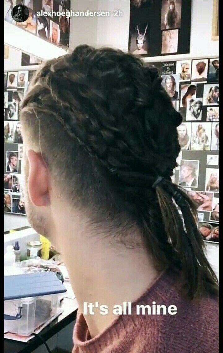 Pin By Kafamiza Gore On Ivar Viking Haircut Viking Hair Braids For Long Hair