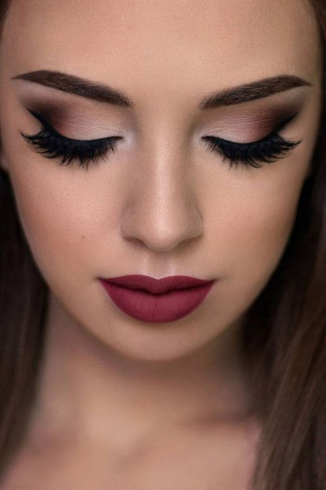 Simple Wedding Makeup For Brown Eyes #makeupprom