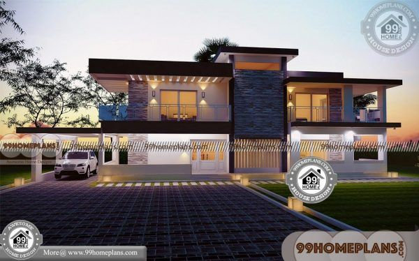 House Plans For Rectangular Plots With 3d Elevations Best 60 Designs House Plans Small House Design House Design