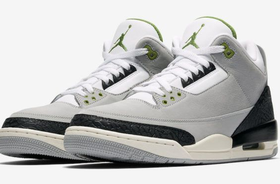 68f4ed6c Official Images: Air Jordan 3 Chlorophyll The Air Jordan 3 Chlorophyll is a  new iteration