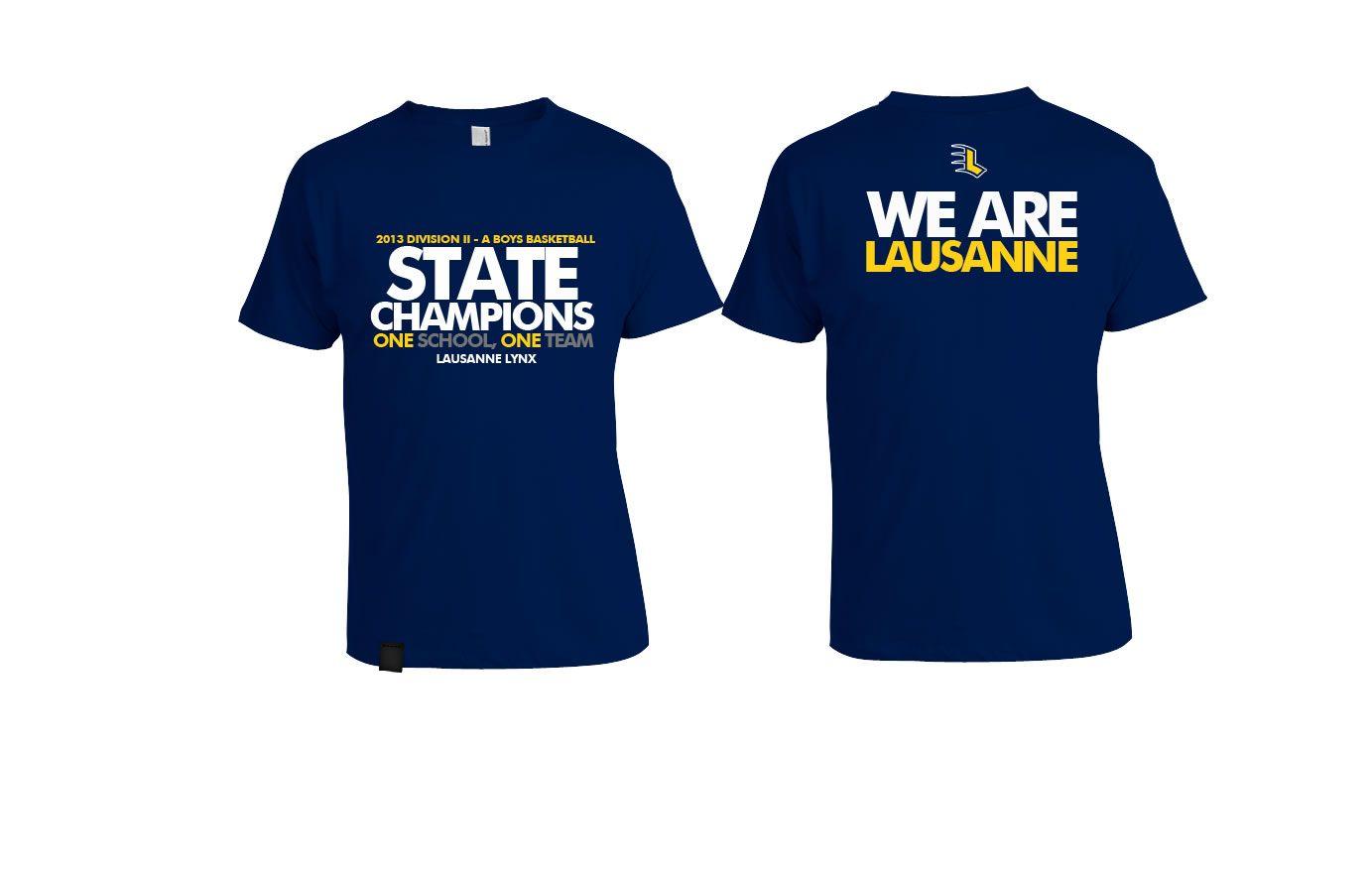 High School Championship T-Shirts Designs