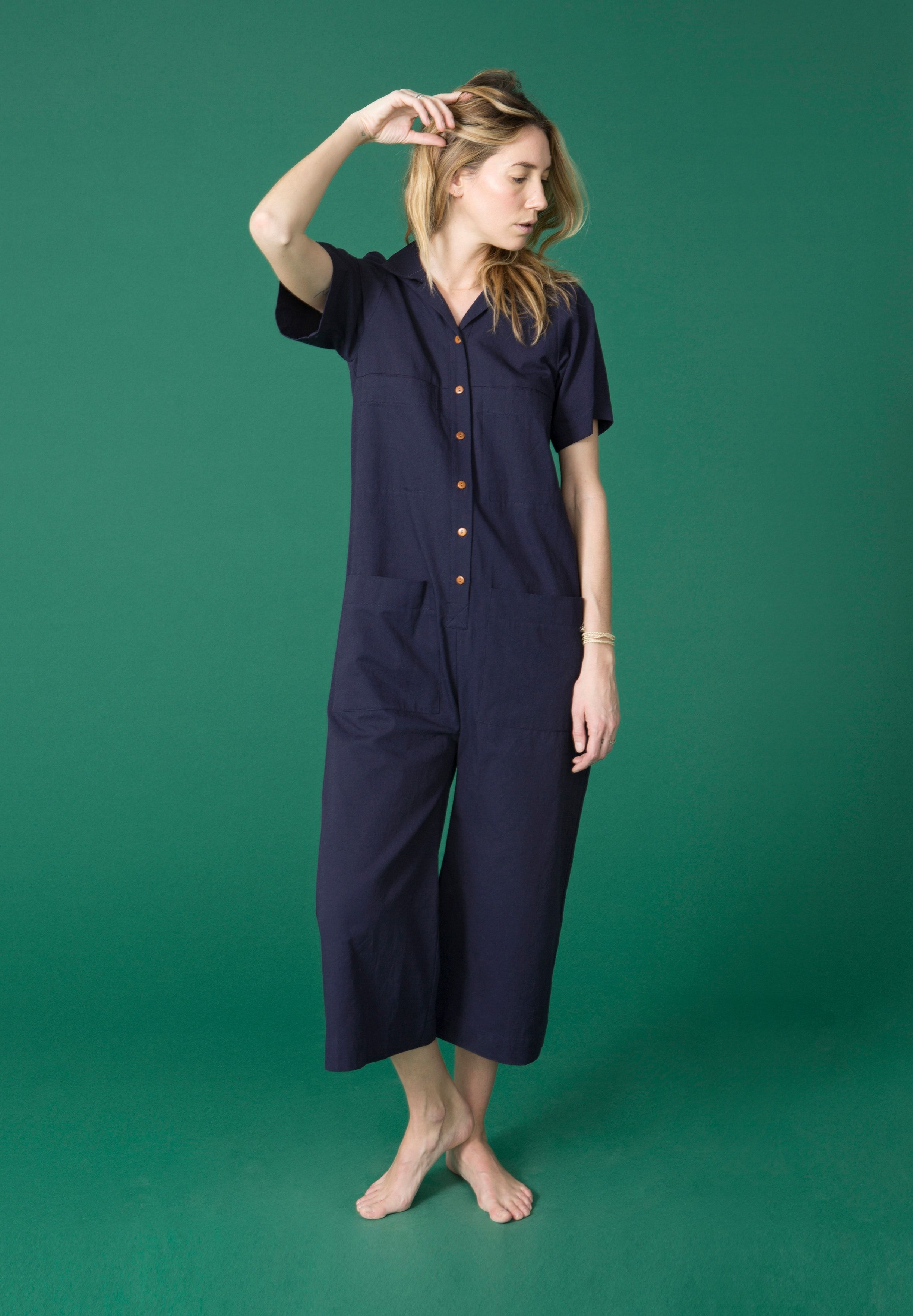 34b981dea78 The Mabel coverall from Ilana Kohn does all the work so you can focus on  more important things, like accessories. Wear it to work, for play or even  lounging ...