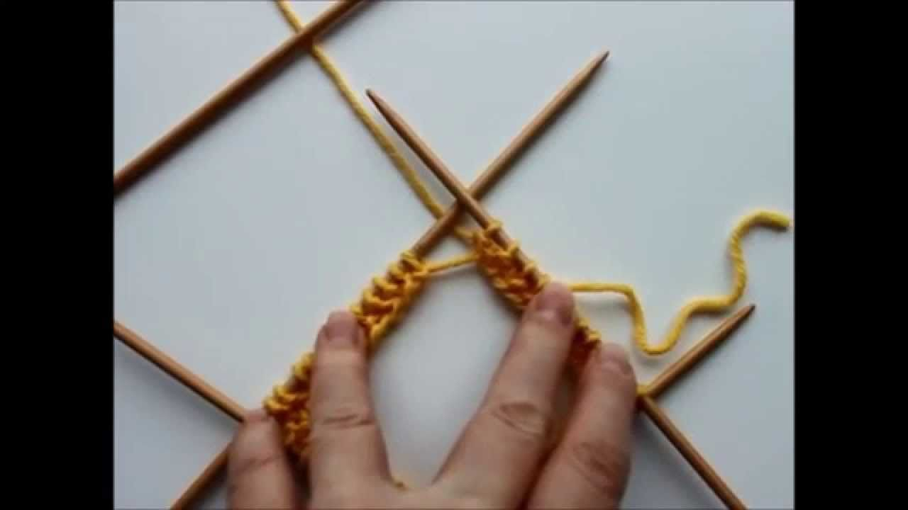 Joining stitches after casting on on double pointed needles