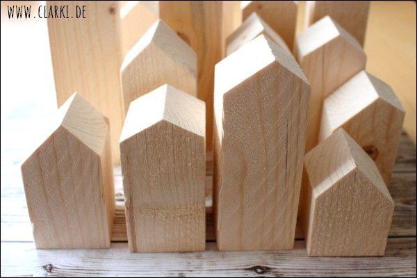 Holzhäuser bauen: Die perfekte Deko für Herbst und Winter #weihnachtenholz