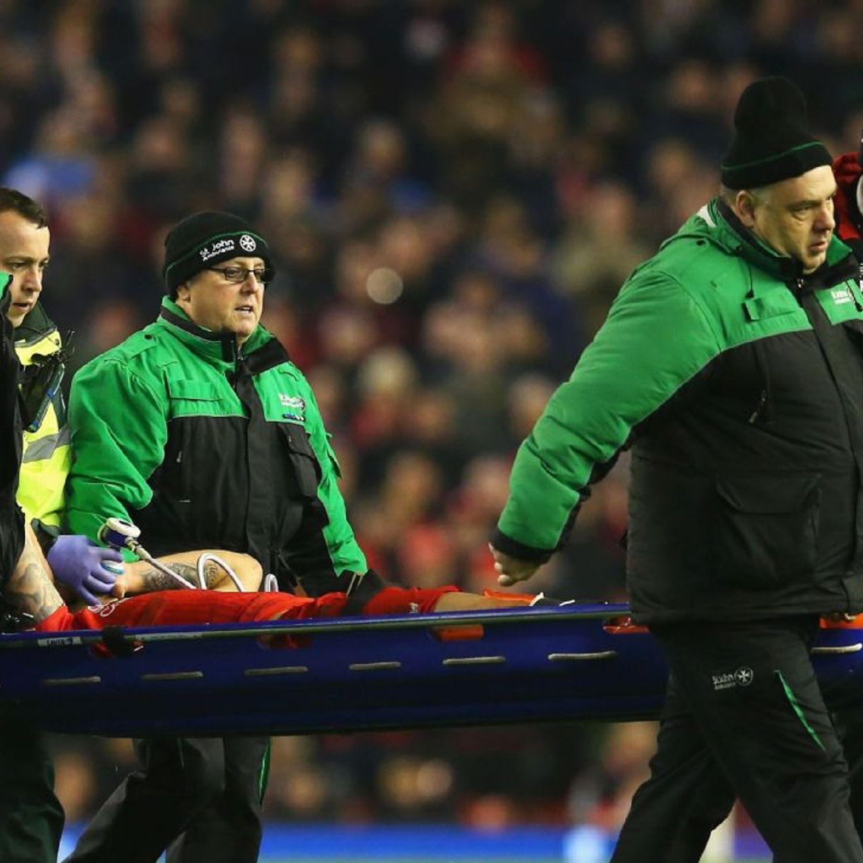 Liverpool's Dejan Lovren to have scan after injury against