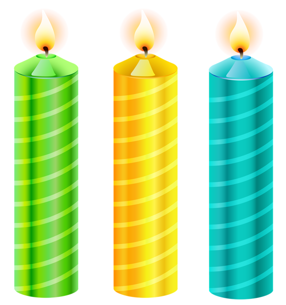 Birthday Candles Png Vector Clipart Picture Candle Clipart Birthday Candles Candles