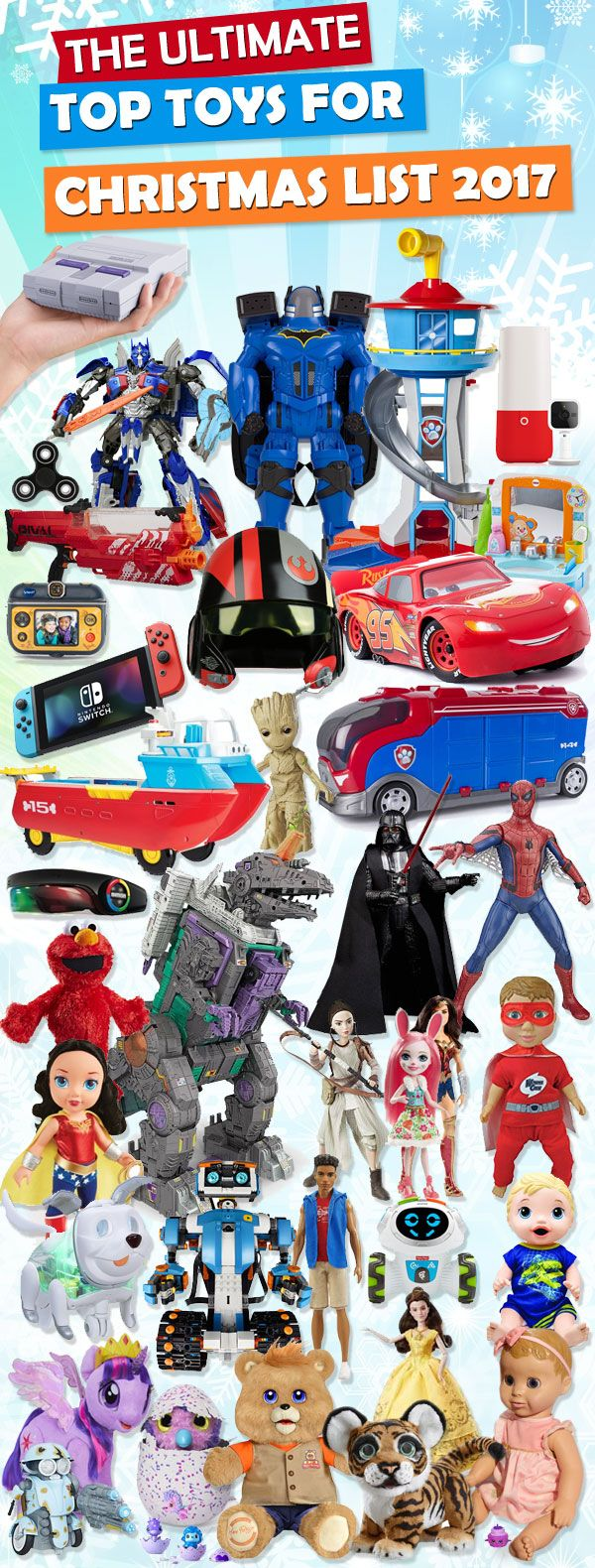 Popular Christmas Toys 2017 >> Top Toys For Christmas 2019 Christmas Gifts Top Christmas Toys