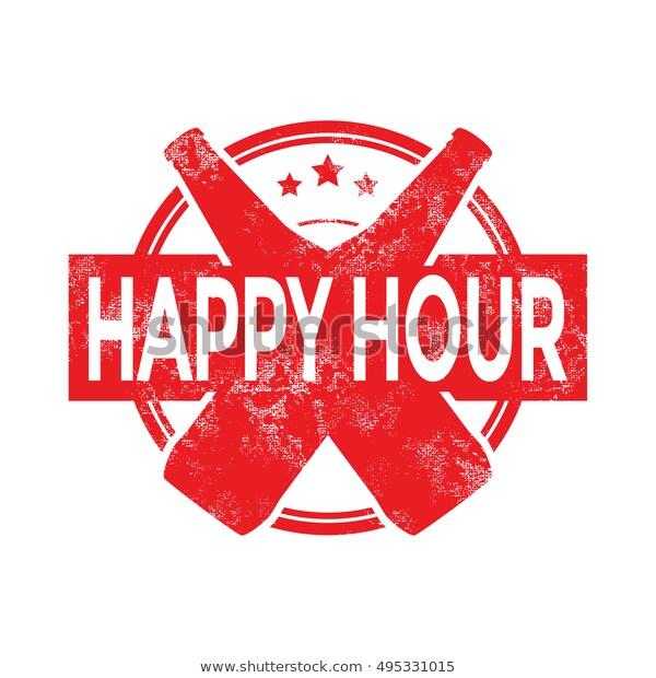 Happy Hour Beer Menu Stamp Vector Stock Vector Royalty Free 495331015 Happy Hour Beer Beer Menu Beer