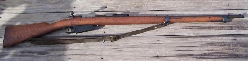 OttomN 1890 Turkish Mauser, 7 65-mm Mauser M1890 bolt action rifle