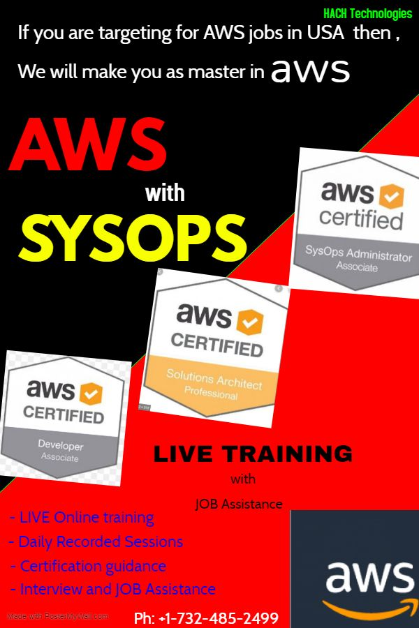 Aws Online Training With Complete Project Oriented Approach
