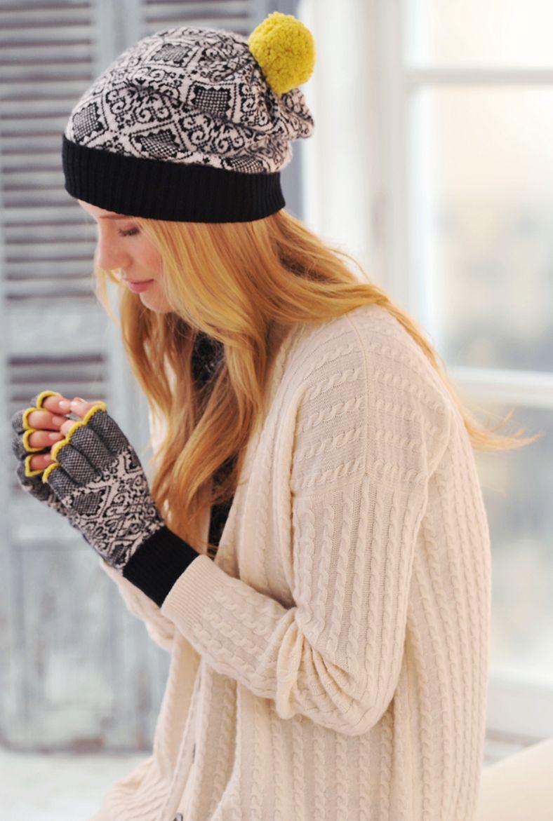 c4cb7132637762 Cashmere Nordic Pompom Beanie - Cashmere Hats | Brora - Winter to buy list