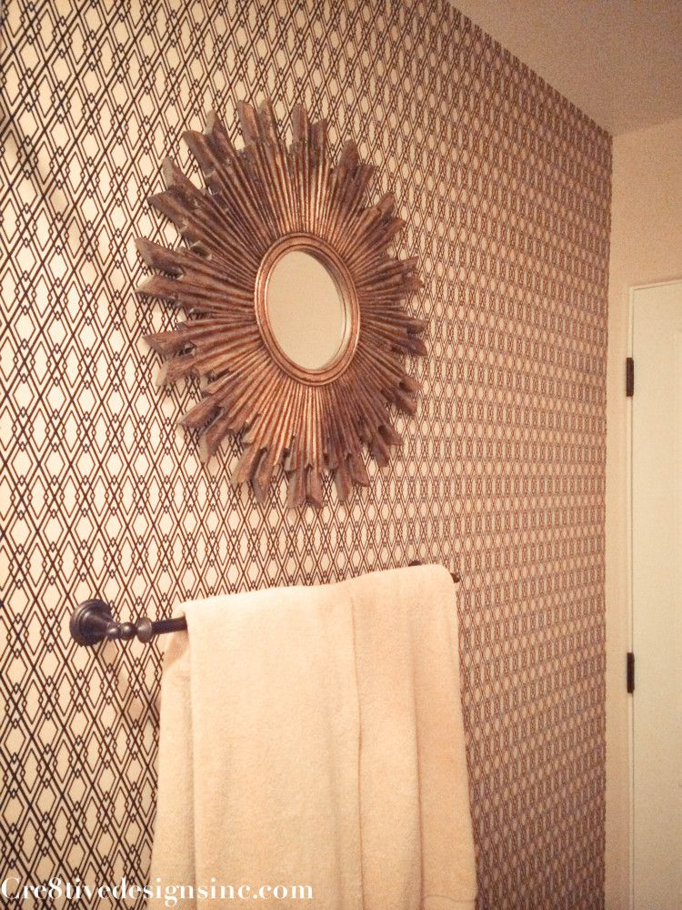 Using Contact Paper To Wallpaper A Wall Cre8tive Designs Inc Diy Wall Hanging Crafts Contact Paper Wall Hanging Crafts