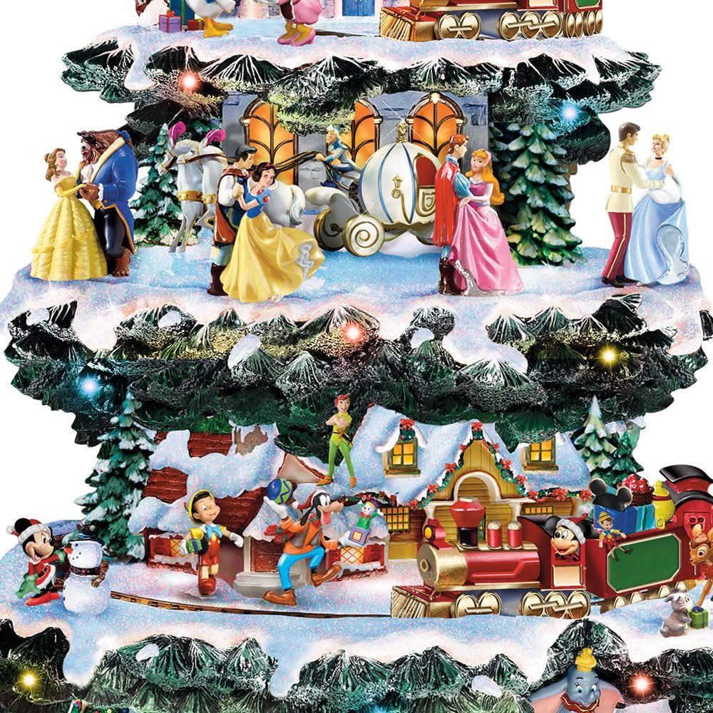 THE DISNEY CHRISTMAS CAROUSEL TREE