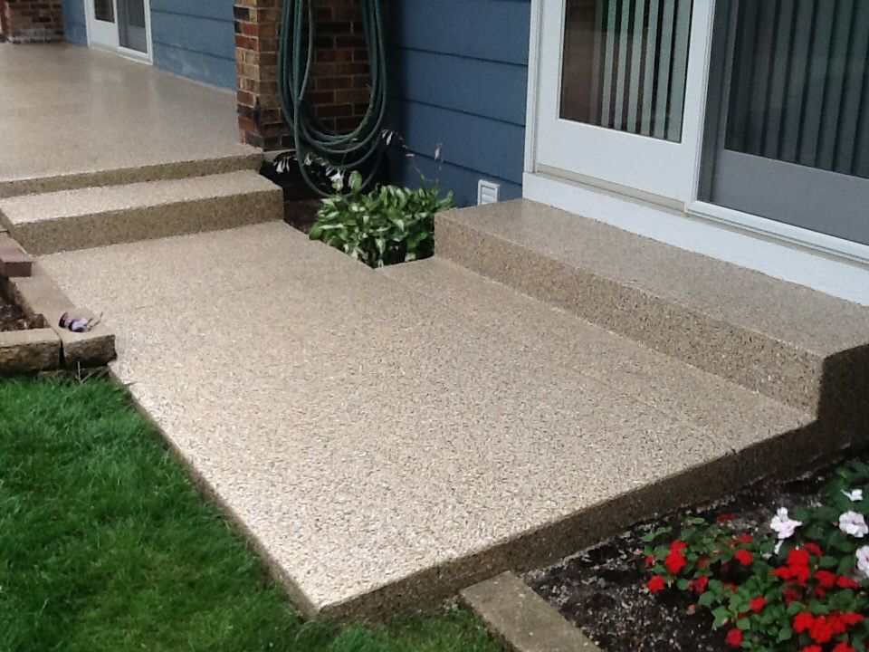 Enhance and protect your patio with a monolithic coating