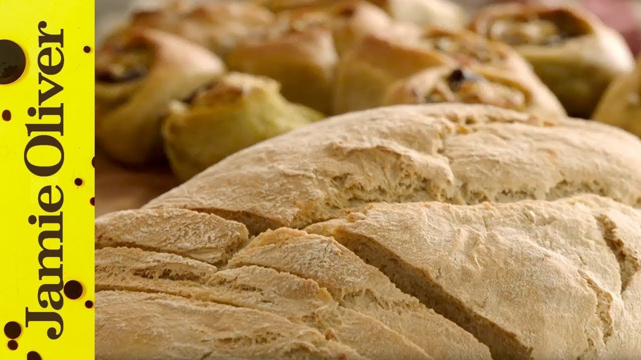 Homemade Bread Keep Cooking And Carry On Jamie Oliver Youtube In 2020 Homemade Bread Jamie Oliver Recipes