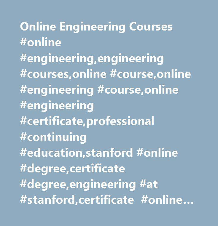 Online Engineering Courses #online #engineering,engineering #courses ...