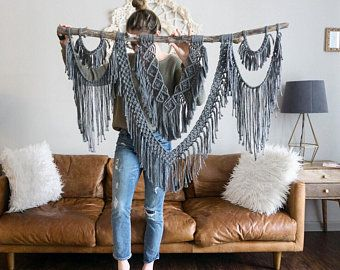 The Dope Rope Large 44″ Macrame Wall Hanging // tapestry // macrame decor // boho decor // wall art // bohemian // Made to order