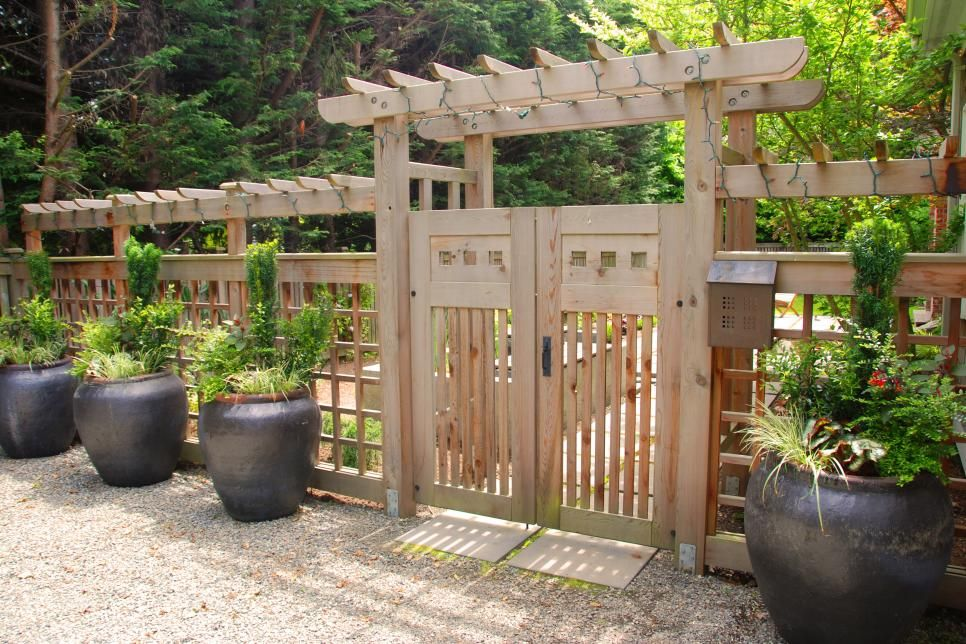 Wooden Fence Designs. Gate IdeasFence ...
