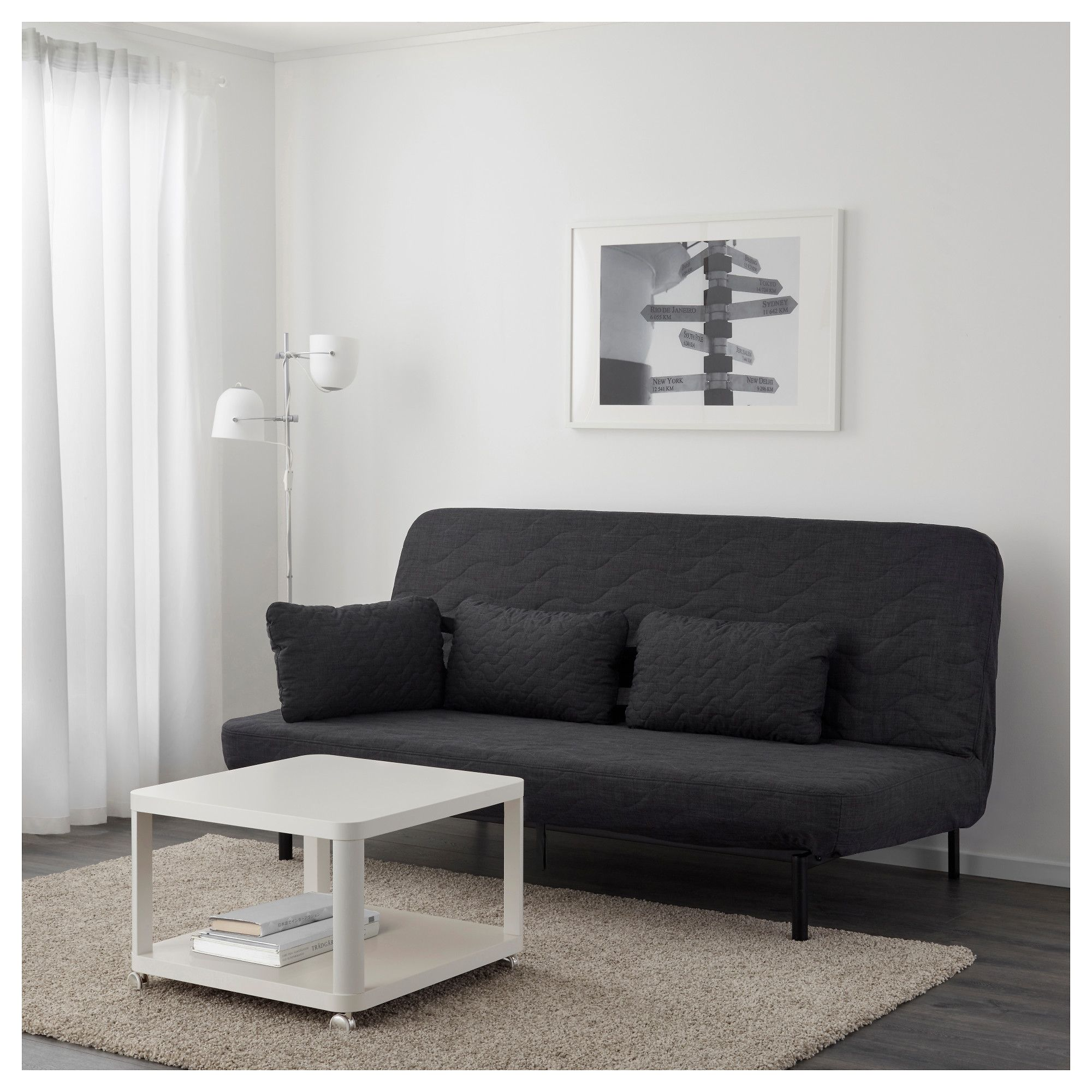 Ikea Couch Bett Trend Nyhamn Futon With Pocket Spring Mattress Skiftebo Anthracite