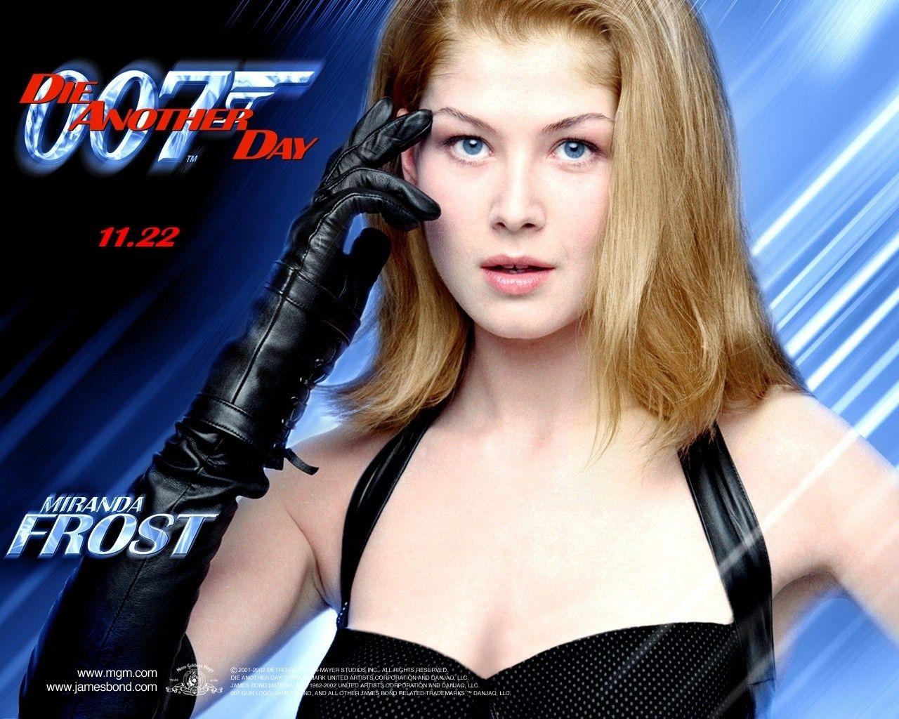 Miranda Frost Die Another Day James Bond Bond Rosamund Pike