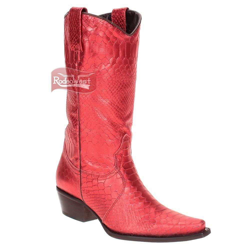 Bota D Milton feminina modelo Texana bico fino 2e1be0cd380