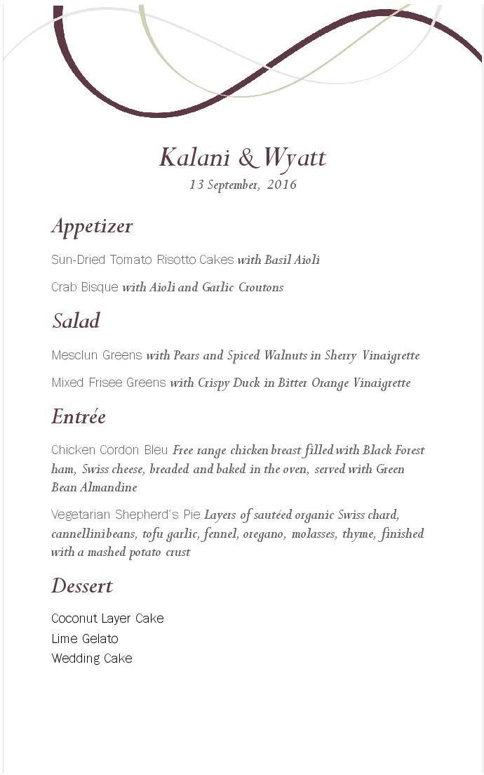 wine event menu musthavemenus wedding seating chart pinterest