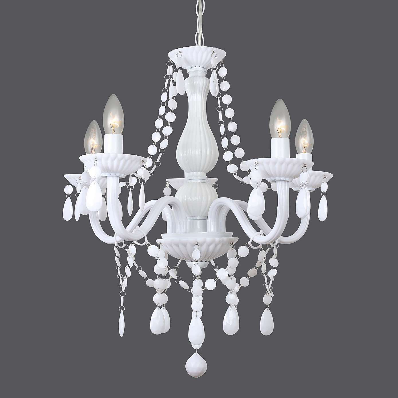 Maisie 5 light glass chandelier dunelm lucys bedroom bedrooms arubaitofo Gallery