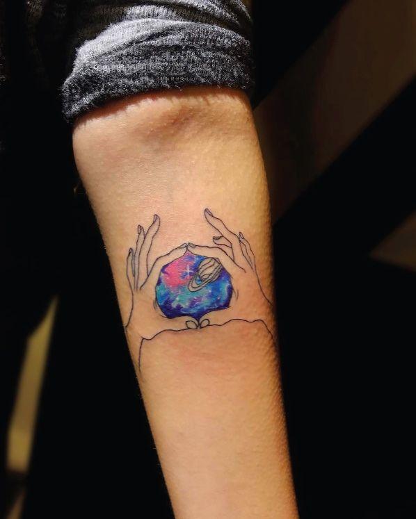 60 Creative And Cool Cosmic Tattoo Designs Tatuaje De Fases