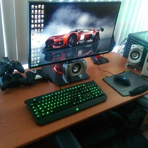 Follow For More Awesomedesksetuptumblrcom Favorite Desks And