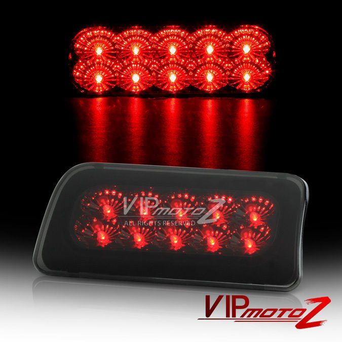 1994 2004 Chevy S10 Sonoma Smoke Led Cargo Third Brake Tail Lights 96 00 Hombre Vipmotoz