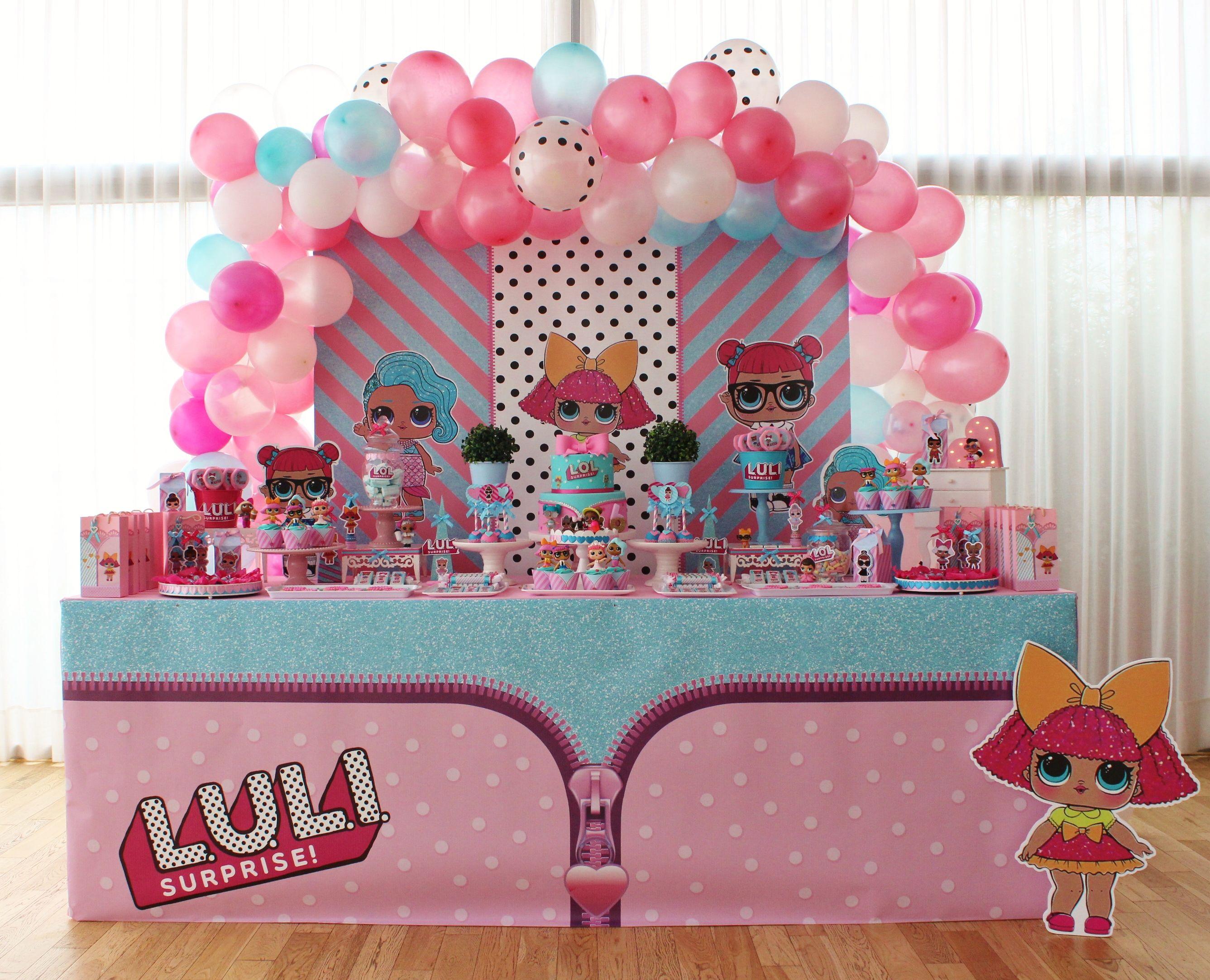 Festa A Sorpresa Di Compleanno lol surprise doll violeta glace violetaglace@gmail (con