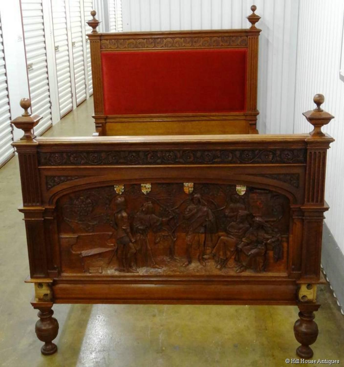 Arts crafts shakespeare bed in other styles other makers
