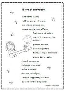 Immagine 1   Filastrocche scuola dell'infanzia, Le idee ...