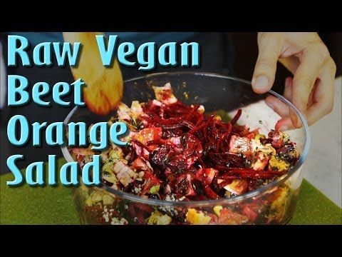 Pin by michaela o on video recipes for amazing life pinterest raw vegan recipe beet and blood orange salad forumfinder Images