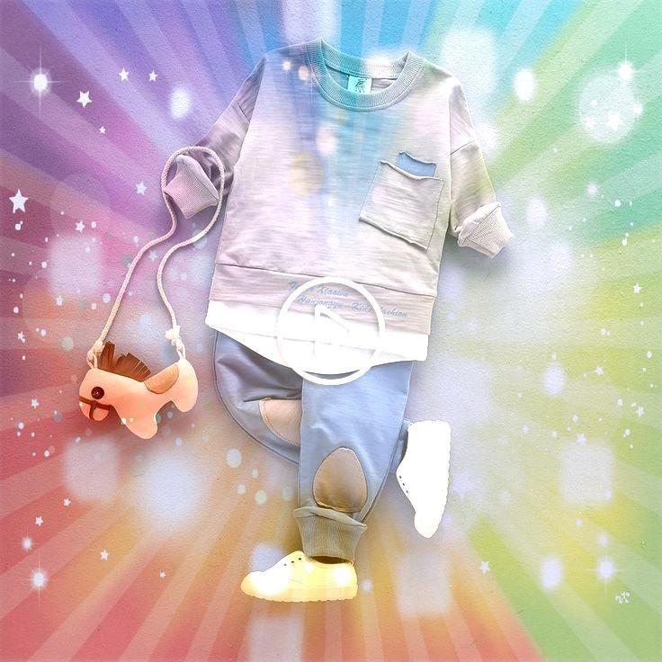 2 STÜCK Kleinkind Baby Jungen Kleidung Outfit Kleinkind Junge Kinder Shirt Tops Pants Freizeitkleidung HerbstSommer Kinder kleidung 13Yearscolorful