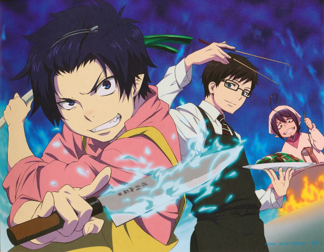 My Three Favorite Characters From Blue Exorcist Rin And Yukio Are Amazing In Every Way