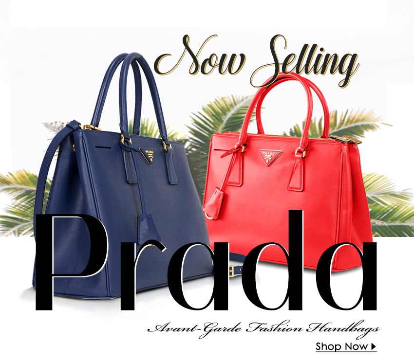 c6e29d1dddd0 We are proud to introduce Prada handbags to our extensive collection of  luxury accessories. Find