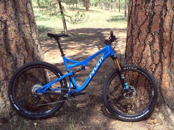 Pivot Mach 429 Trail Mountain Bike Review Bici Pure Lifestyle