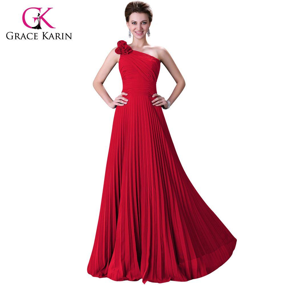 Evening dresses grace karin stock blue purple green red one