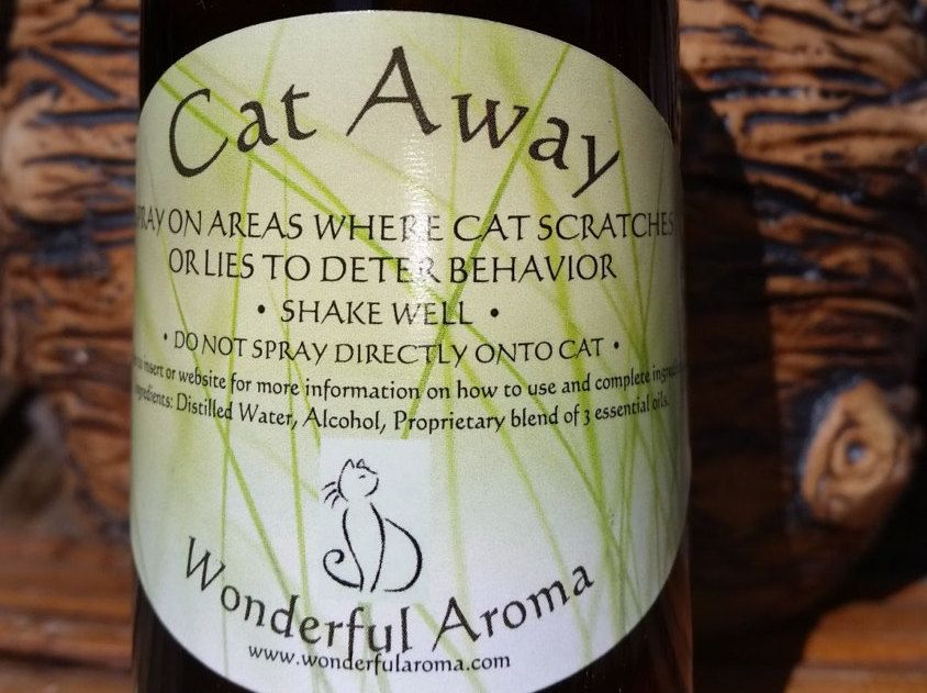 Cat Repellent Aromatherapy Cat Scratching Cat Scratch Furniture Furniture  Protection Pets Home And Living Pets Cat Away Spray Pet Supplies By  WonderfulAroma ...
