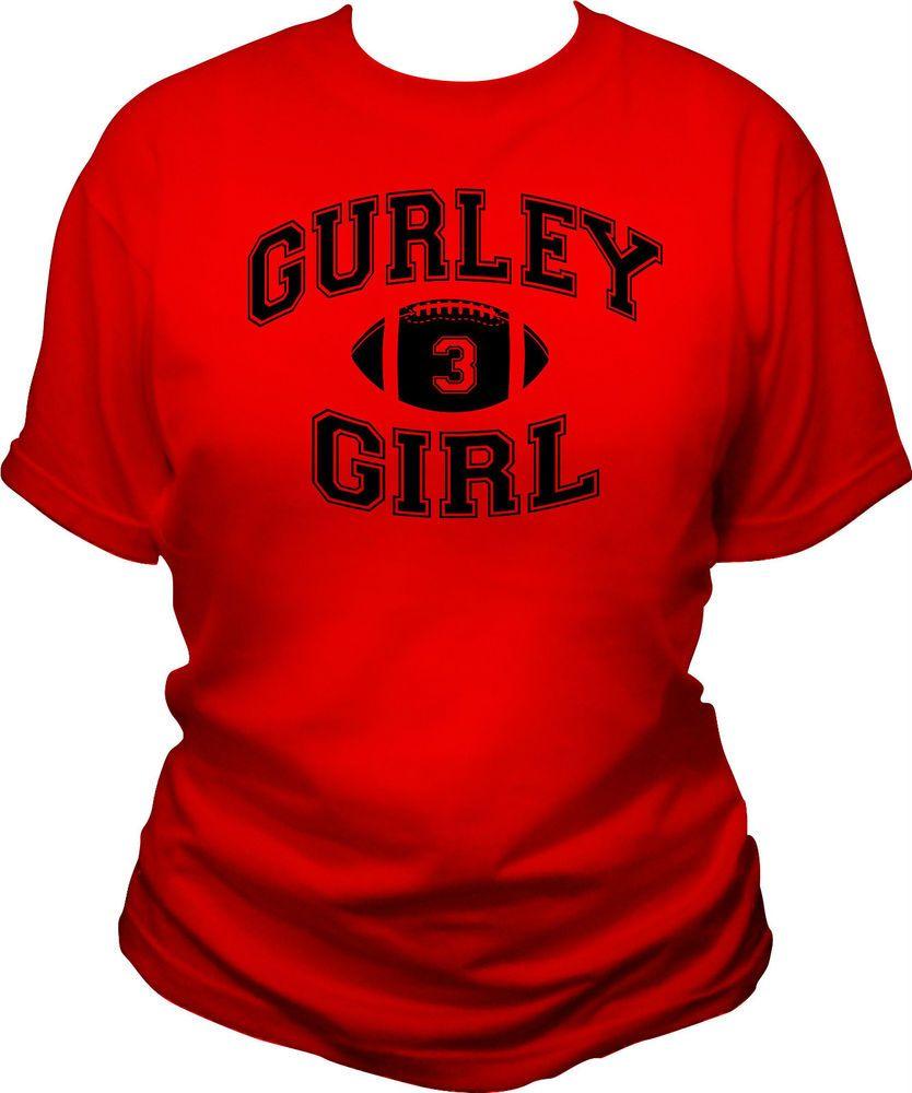 Gurley Girl Womens T Shirt Todd Gurley Georgia Bulldogs Ga Uga Dawgs Ladies Tee Georgia Bulldogs Georgia Dawgs Georgia Bulldogs Football