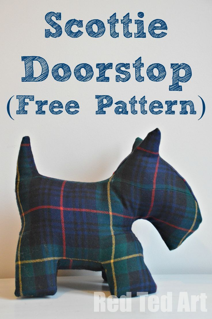 For the sewing enthusiasts amongst us a Scottie Doorstop