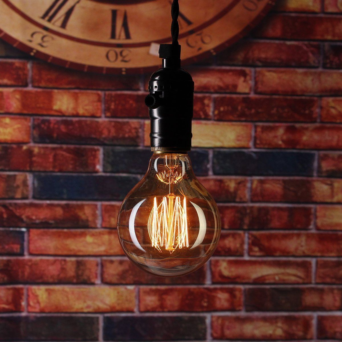 Works With I Like That Lamp Diy Wiring Kits Dimmable Vintage Swag Light Kit Antique Style Edison Bulb