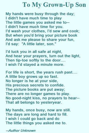 A Mother S Love Poem For Her Son My Son Quotes Son Quotes From Mom Son Poems