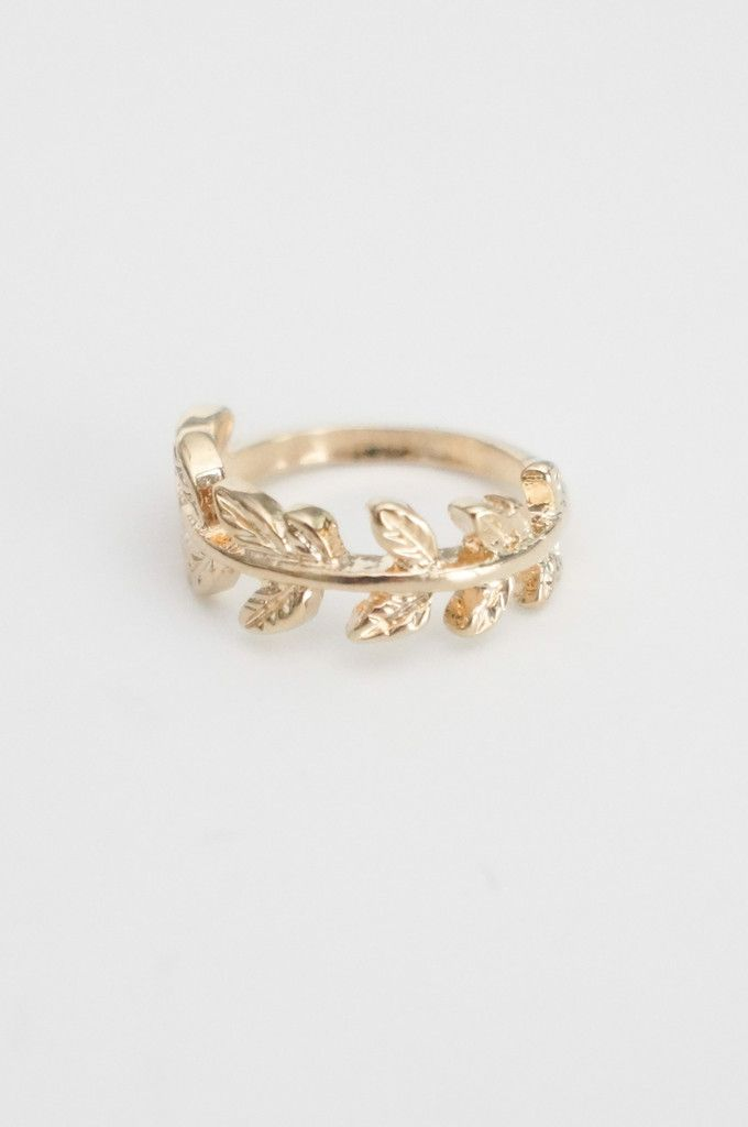 1f231d4e87 Leaves Midi Ring (I need this for my index finger on my left hand ...